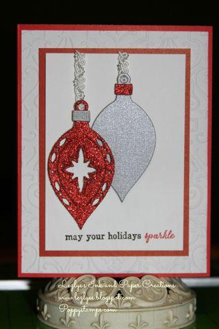 Sparkling Christmaspoppystamps