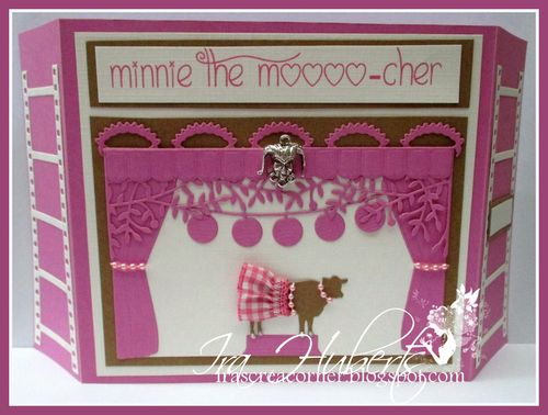 Poppystamps Minnie The Mooo-cher January 2014 (1)