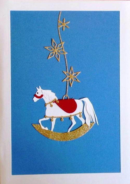 2014 Rocking Horse Ornament
