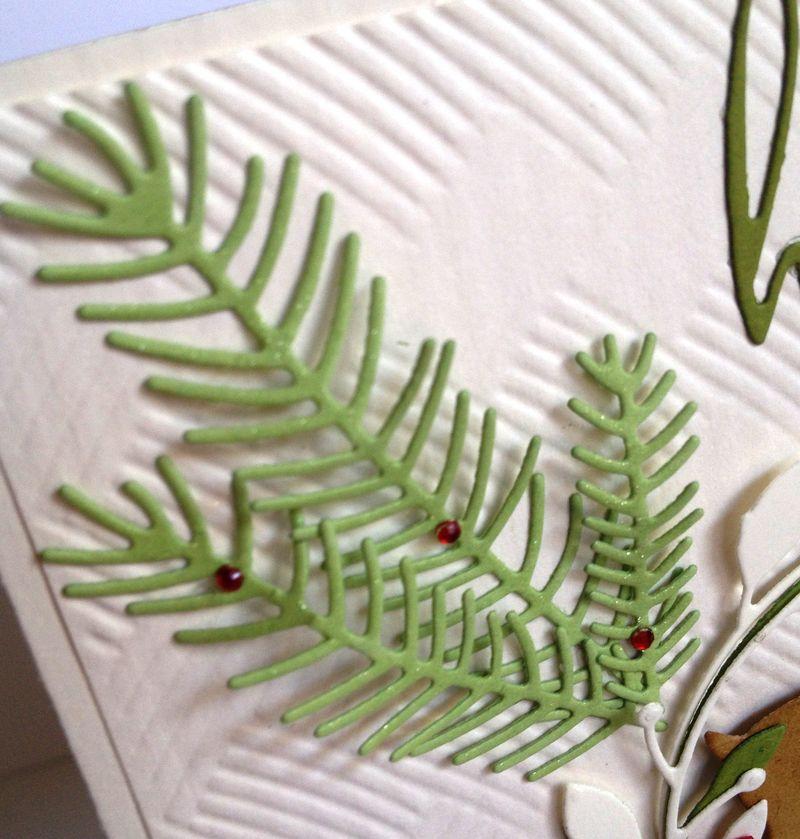 Merry Christmas-Pine Needles Closeup