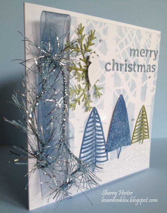 Blue Merry Christmas - 8
