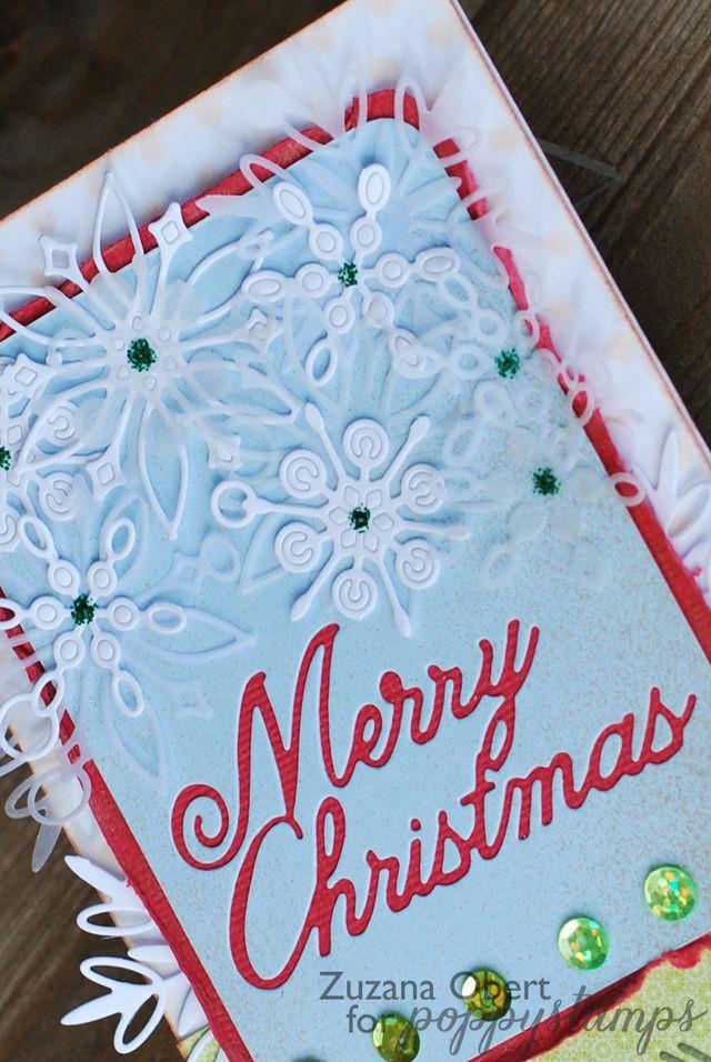 Merry Christmas ( Snowflakes )detail 1 copy