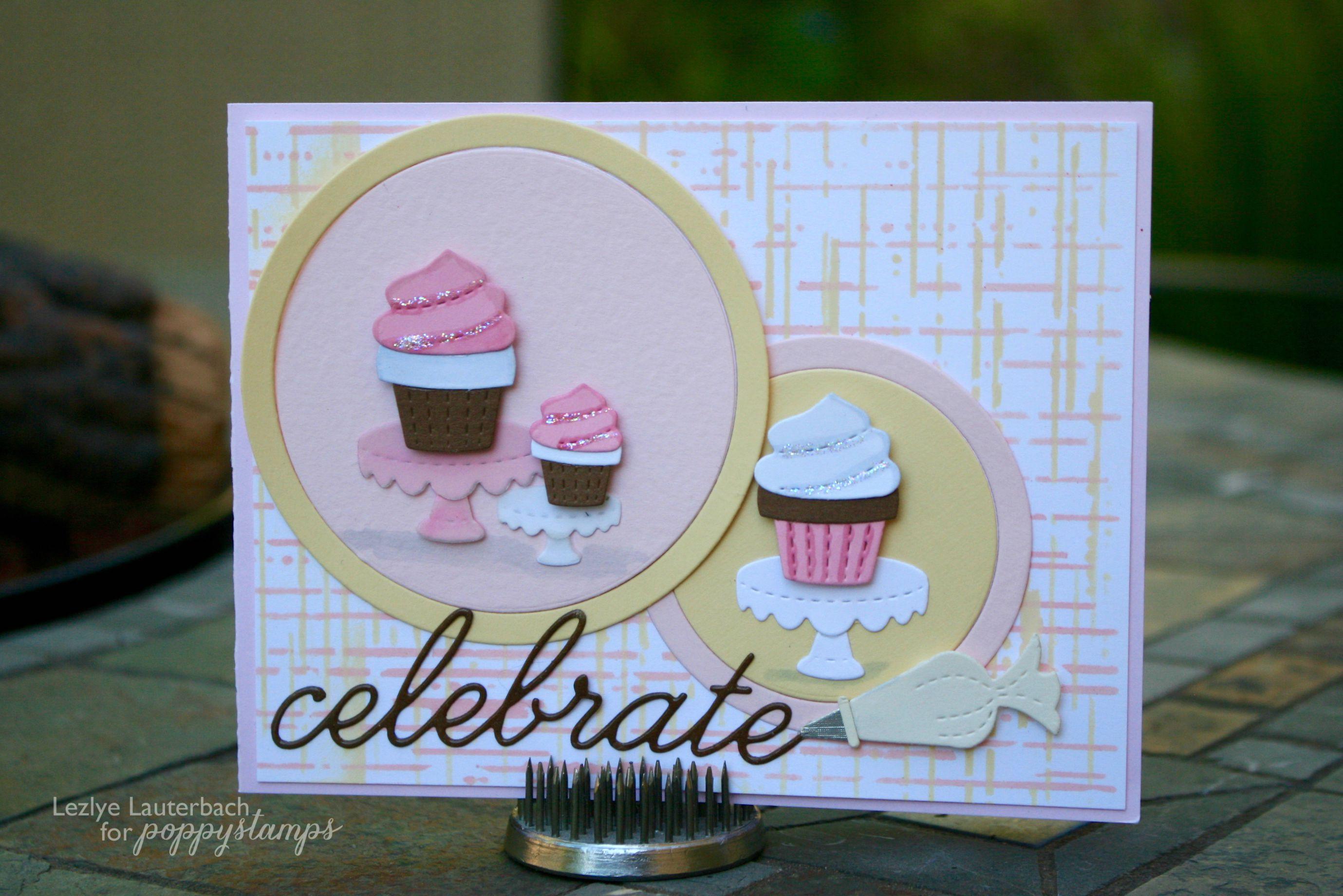 Stitched Cake Plates