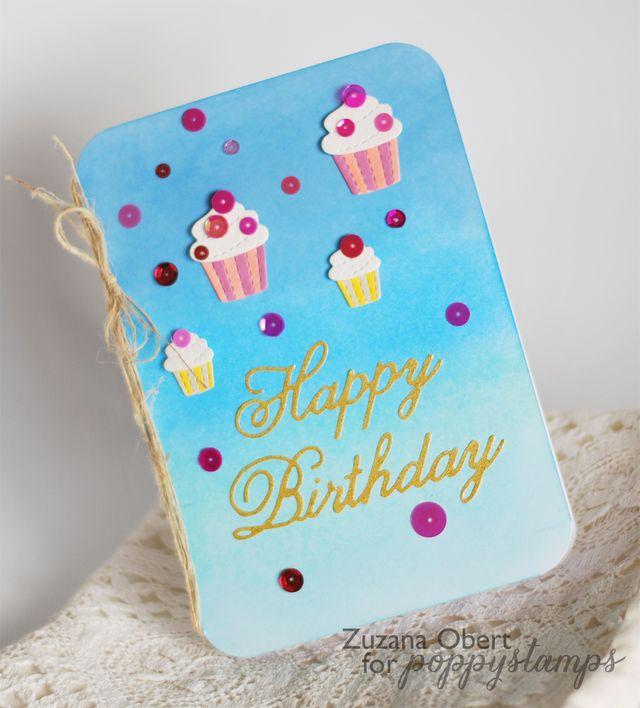 Happy Birthday (Cupcakes) detailPS
