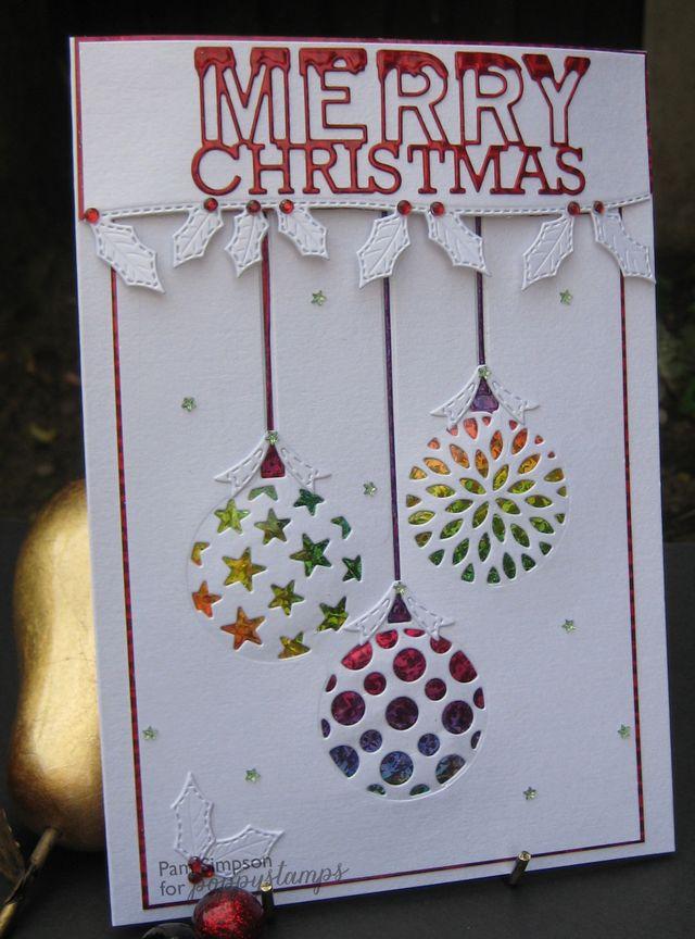 Ornament Trio Cutout