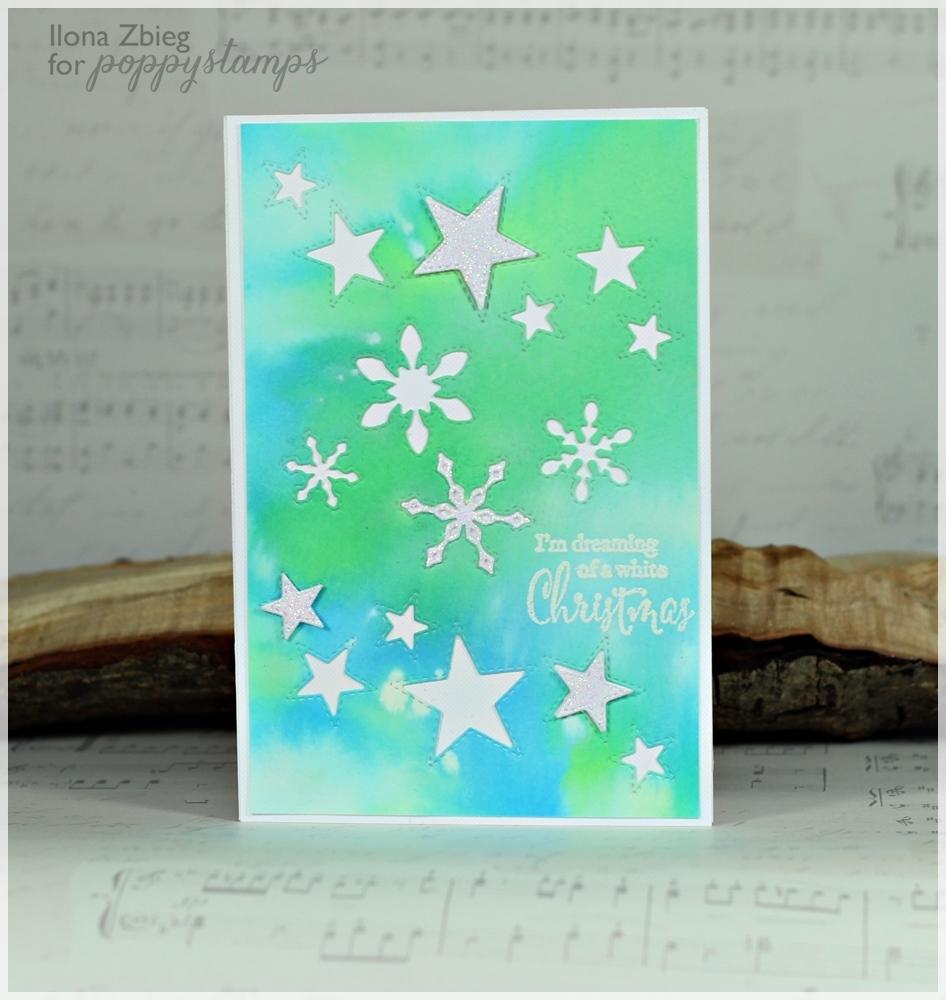 Stitched Snowflake Cutouts