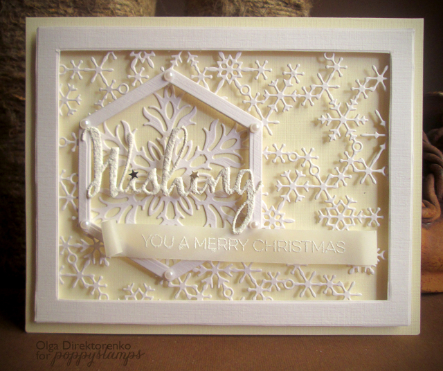 Christmas Greetings Clear Stamp Set