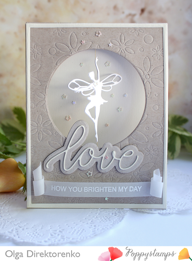 Sentiments of Love clear stamp set