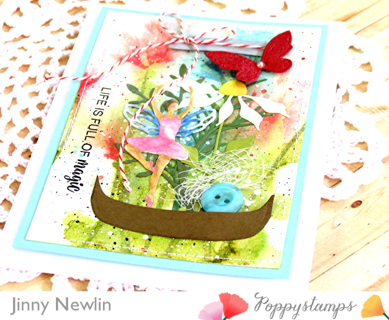 Poppy Life is Full of Magic closeup - JinnyNewlin
