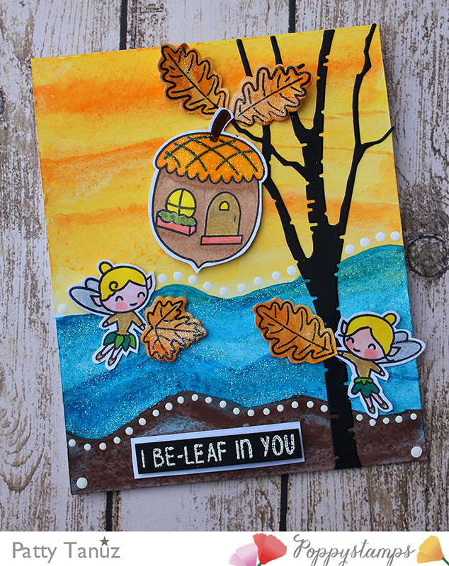 Autumn Fairies clear stamp set