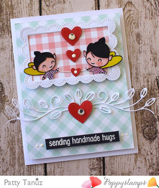 Splendid Stitched Hearts
