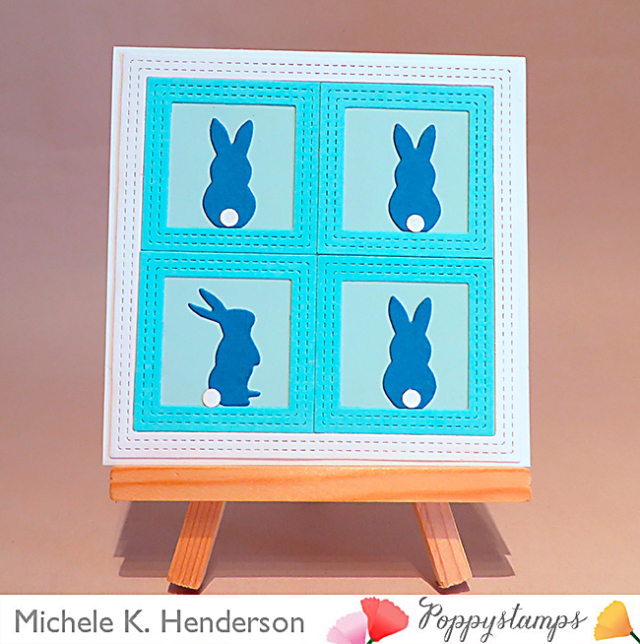 Double Stitch Square Frames