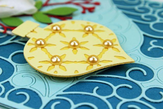 Yellow Ornament Dimension