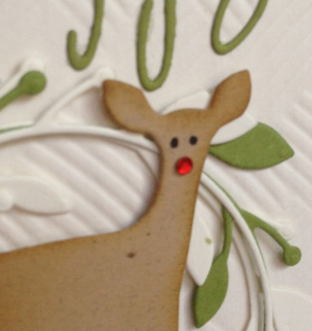 Merry Christmas-Deer Closeup