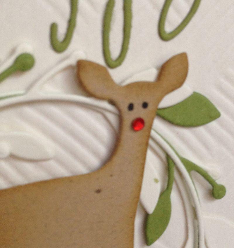Merry Christmas-Deer Closeup