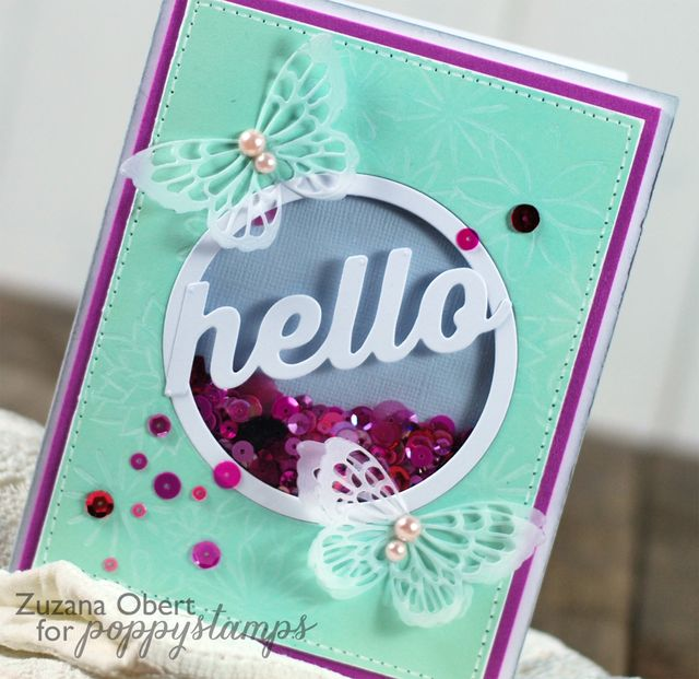 Hello detail (Poppystamps)