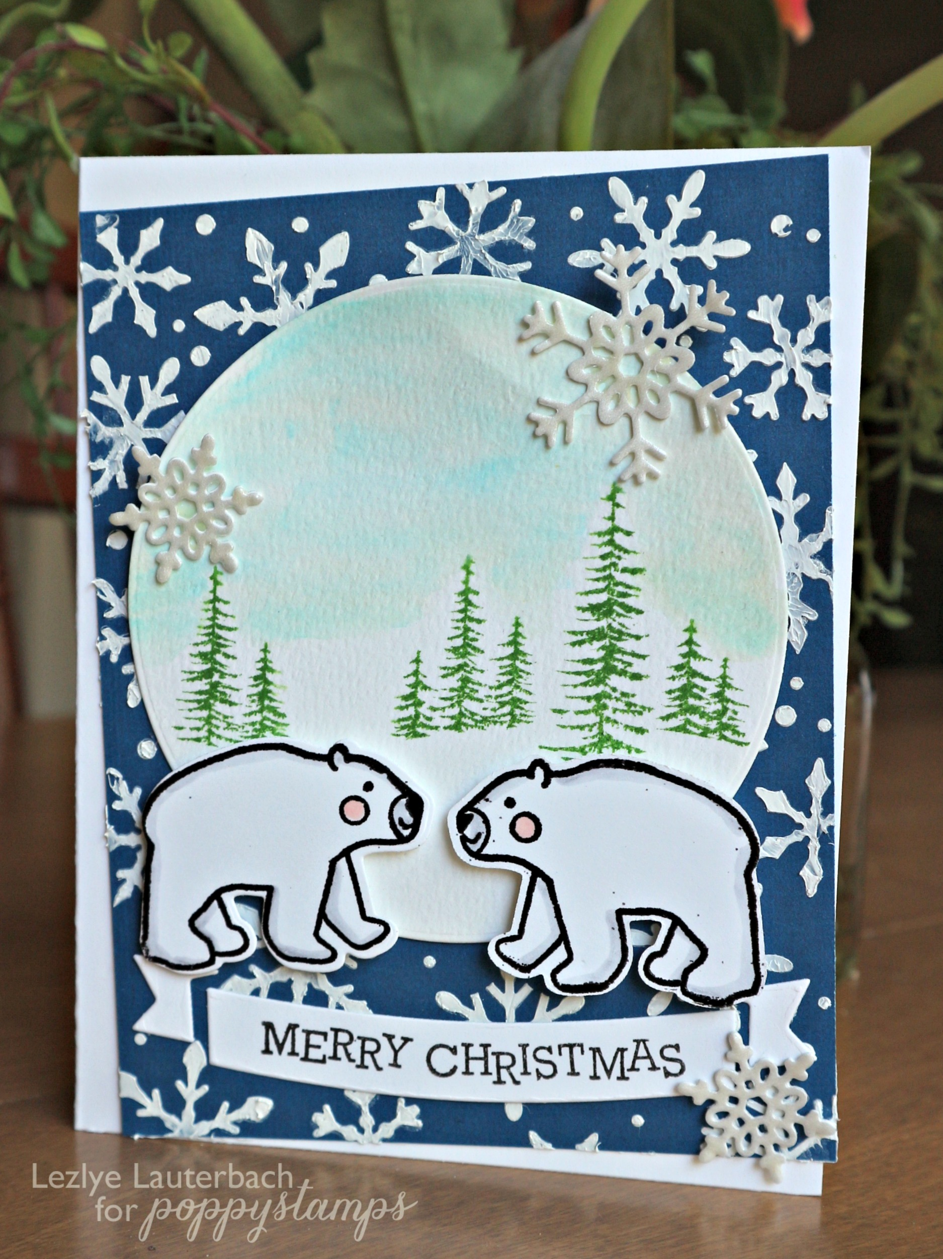 Polar Bear Fun Clear Stamp Set