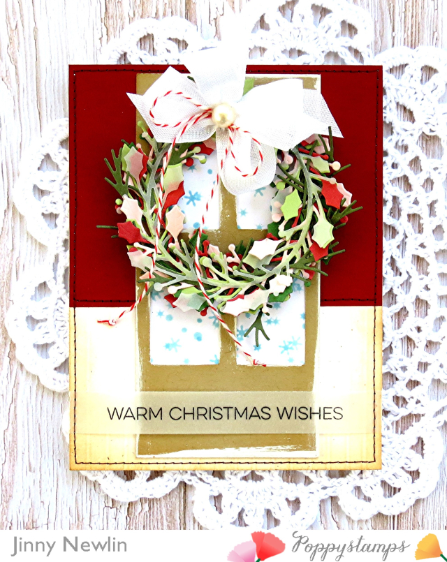 Poppystamps Warm Christmas Wishes - JinnyNewlin