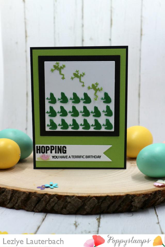Poppystamps frog