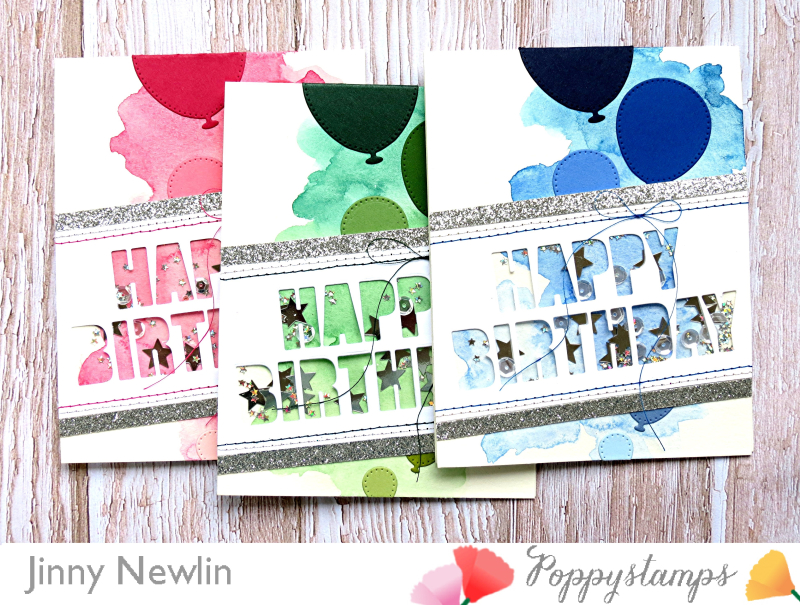 Poppy Happy Birthday Trio - JinnyNewlin