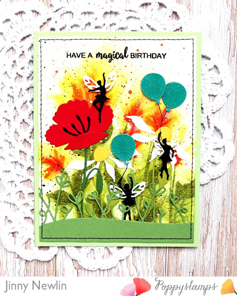 Poppy Have a Magical Birthday - JinnyNewlin