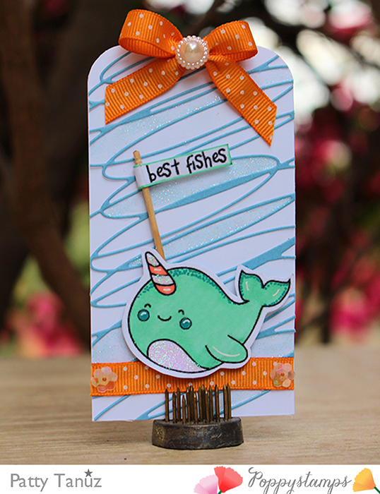 I'm a Narwhal clear stamp set