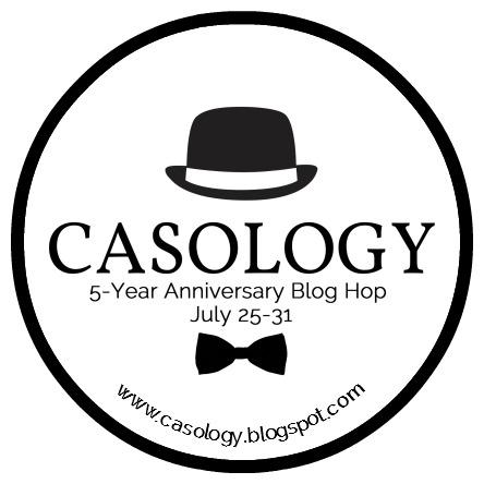 CASology 5-year Anniversary Hop Logo