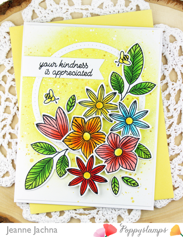 Little Kindness clear stamp set