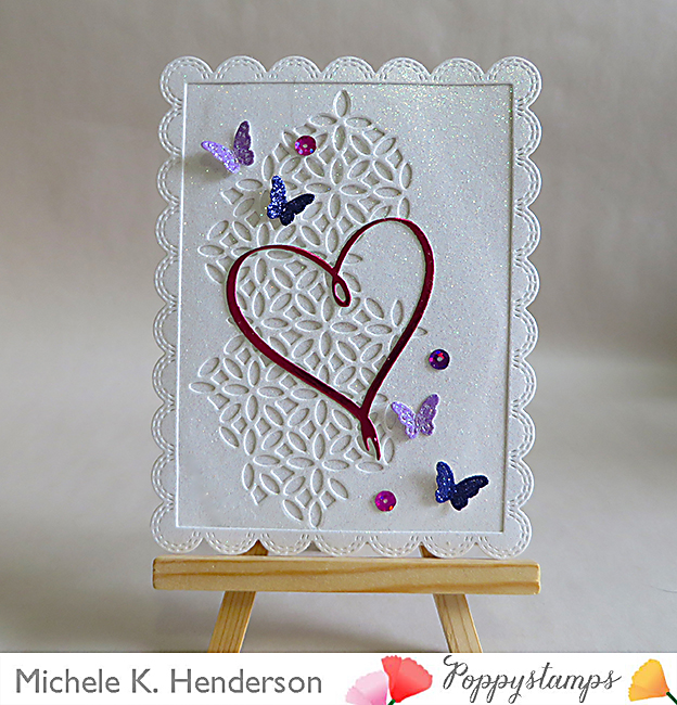 Double Stitch Scalloped Rectangle Frames