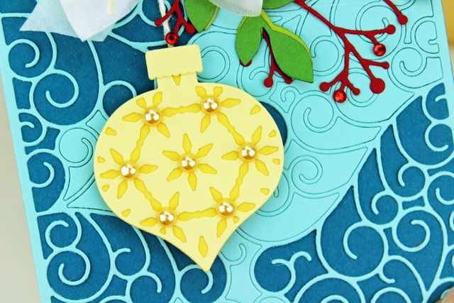 Yellow Ornament CU
