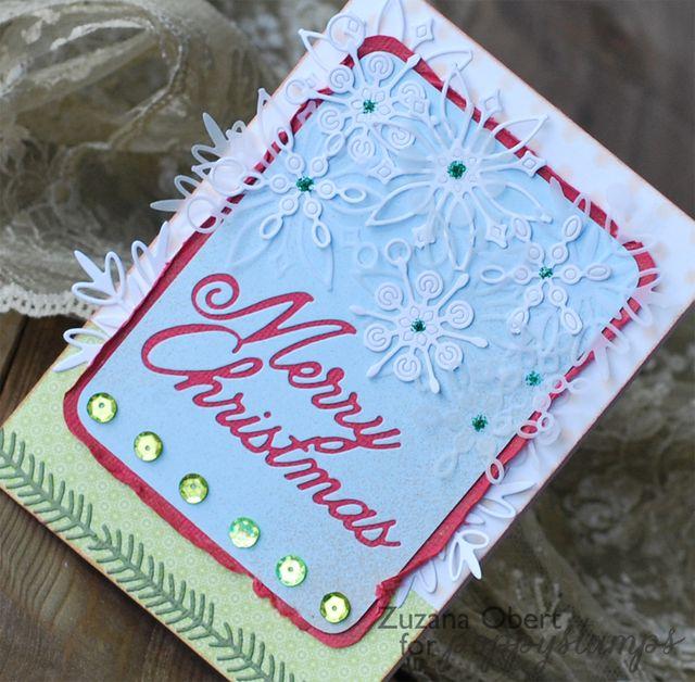 Merry Christmas ( Snowflakes )detail copy