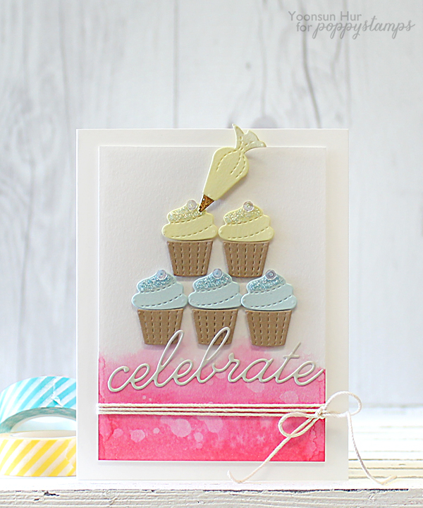 Stitched Cupcakes