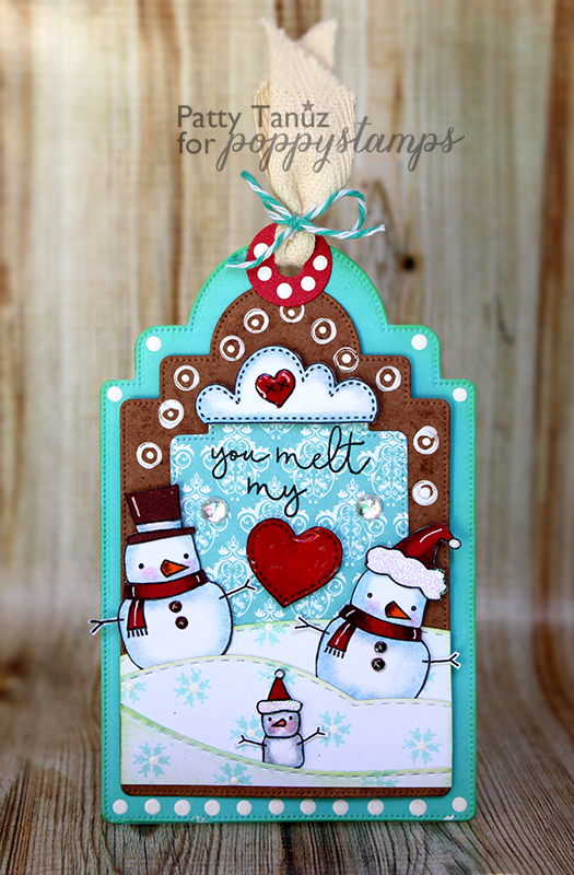 You Melt My Heart Clear Stamp Set