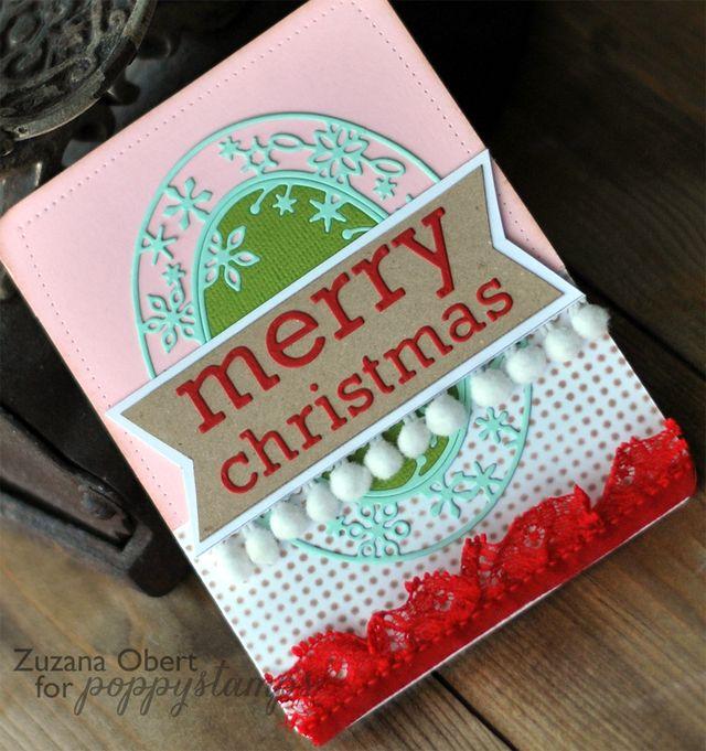 Merry Christmas Pom Poms (PS) details 1