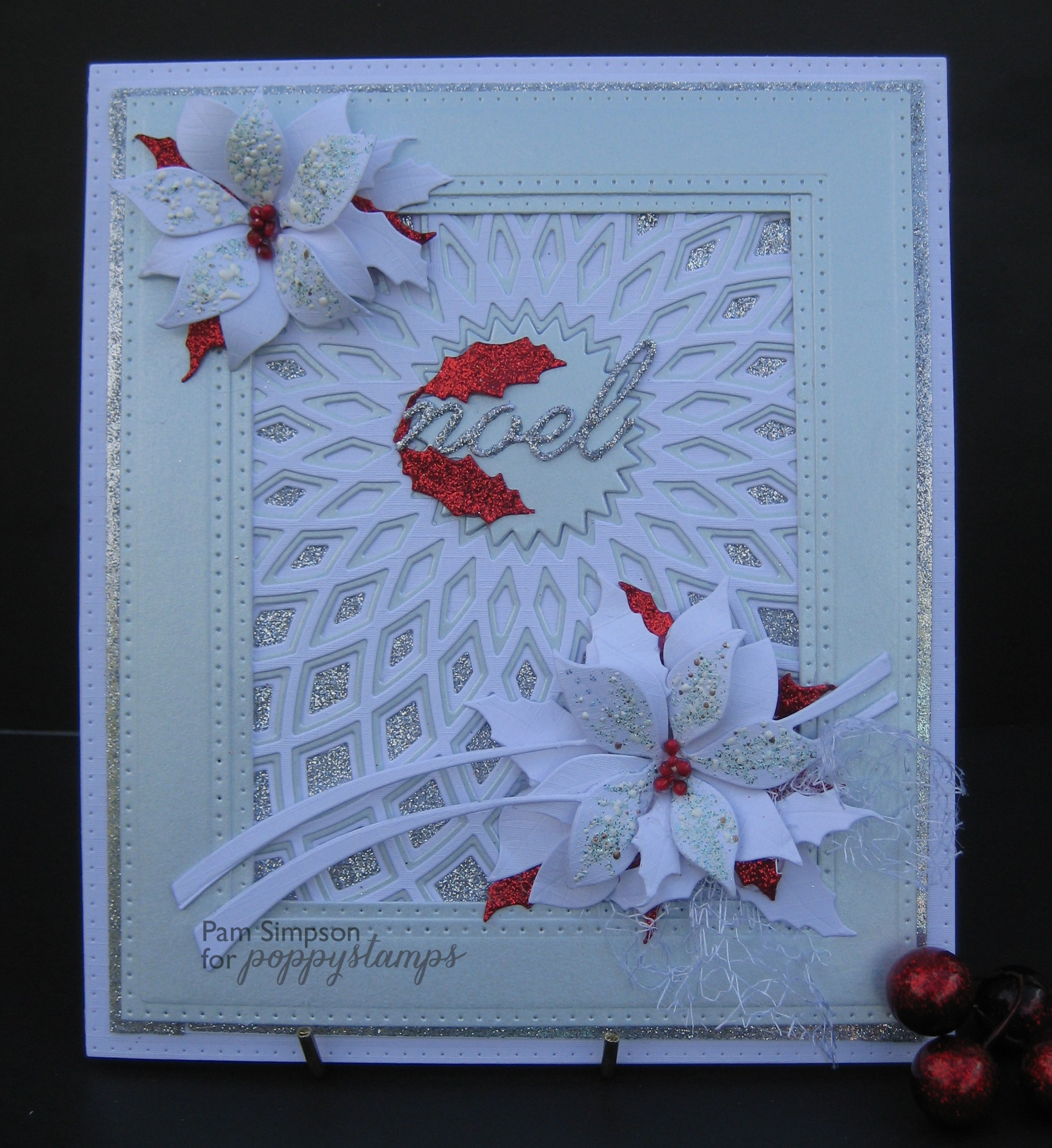 Poinsettia Ribbon