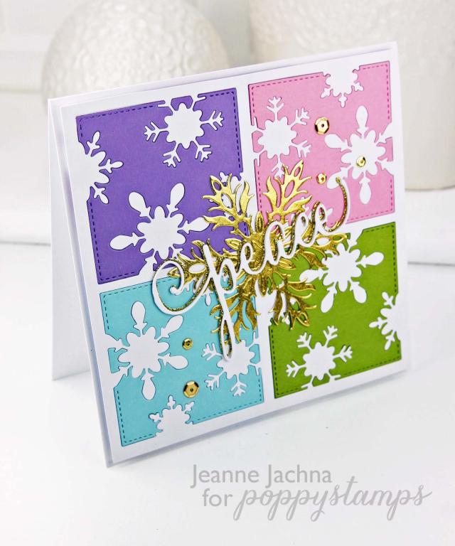Snowflake Square Four copy