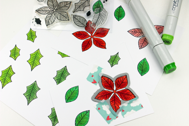 Peace Poinsettia How To One