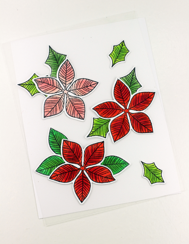 Peace Poinsettia How To Two
