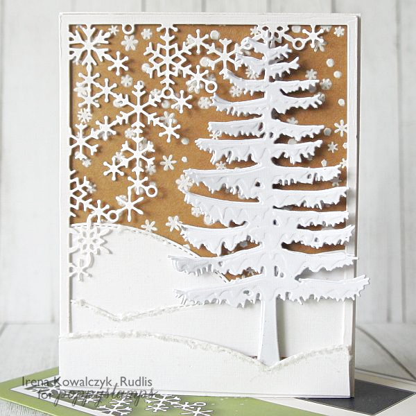 Crystal Snowflake Corner Frame