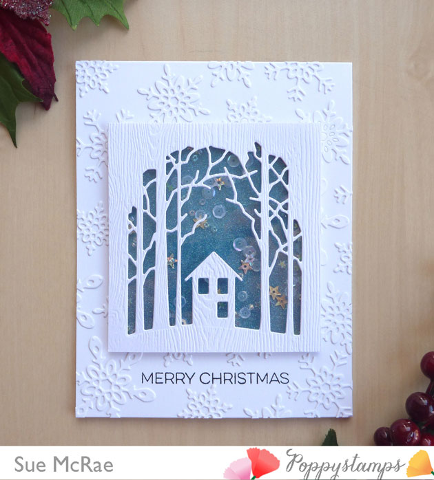 Shaker Woods Christmas In The Woods.Snowy Christmas In The Woods By Sue Mcrae Poppystamps