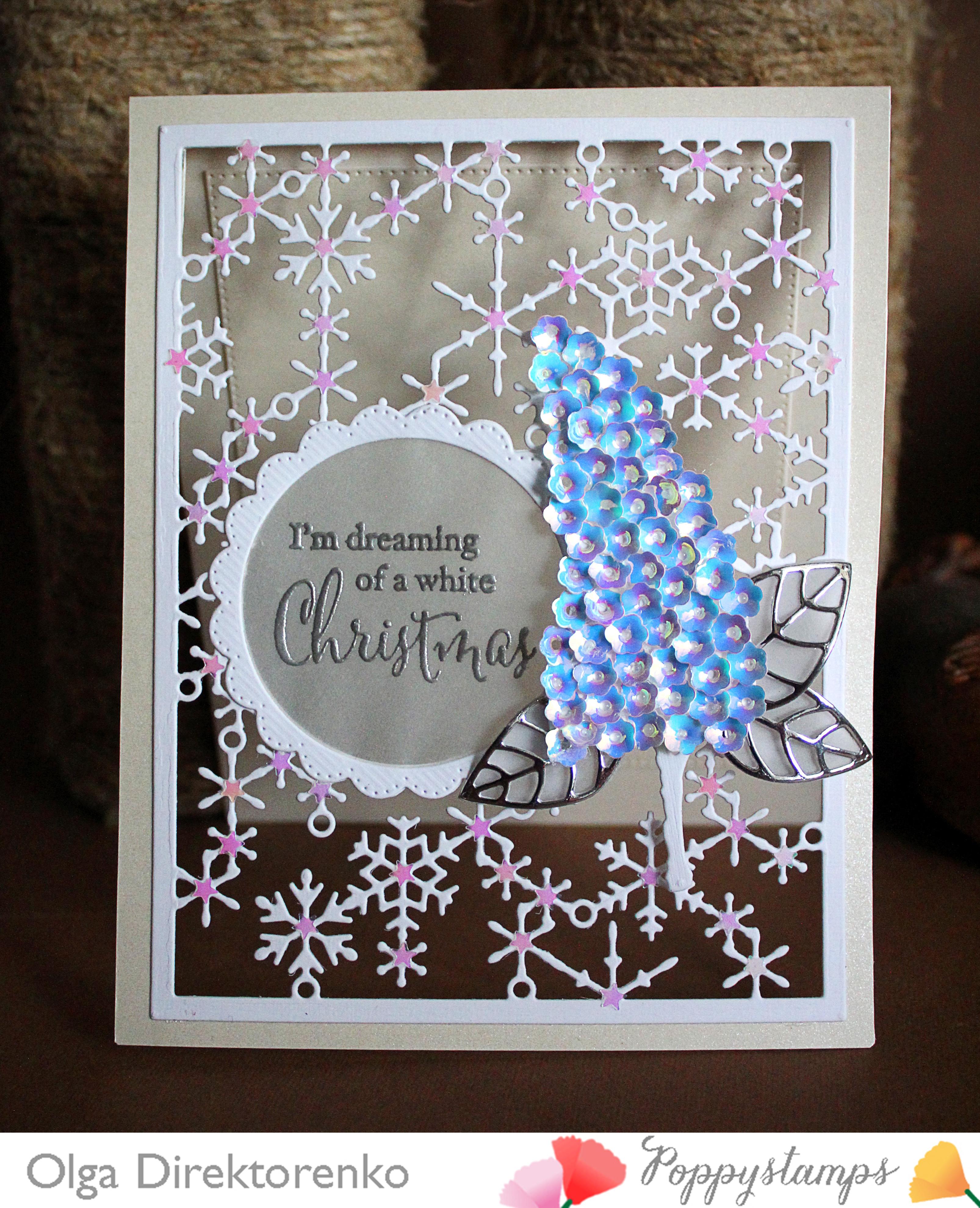 Snowflake Lattice Frame
