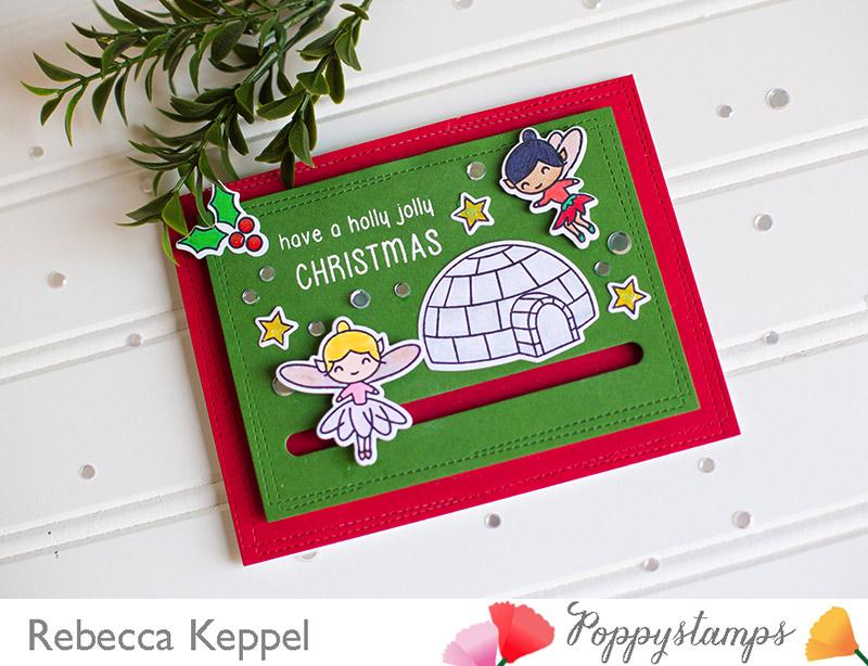 Poppystamps slider card 2