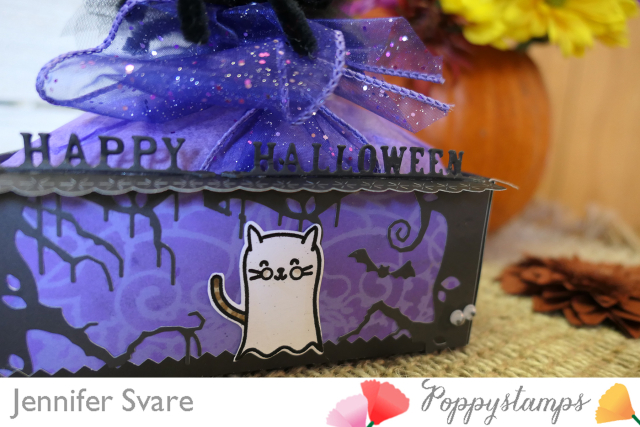 Feline Spooky clear stamp set