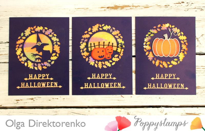 Halloween cards 1