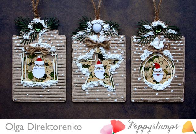 Santa Shaker Tags 1