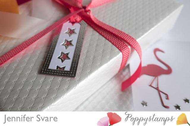 FlamingoCard and Stars Tag