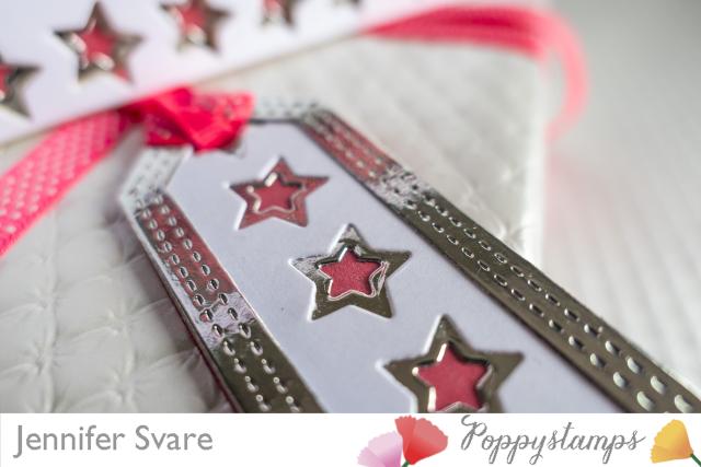 Stars Tag and Card Closeup
