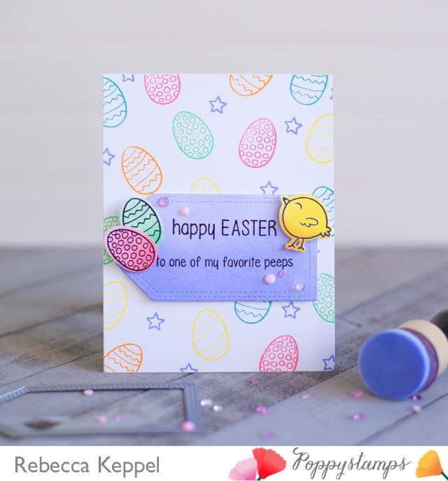 Rebecca keppel poppystamps easter card1