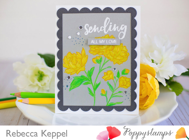 Rebecca keppel poppystamps no line coloring 1