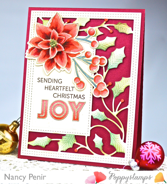 CL467 Tidings of Joy clear stamp set
